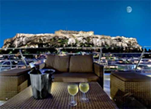 Athens Hotel View